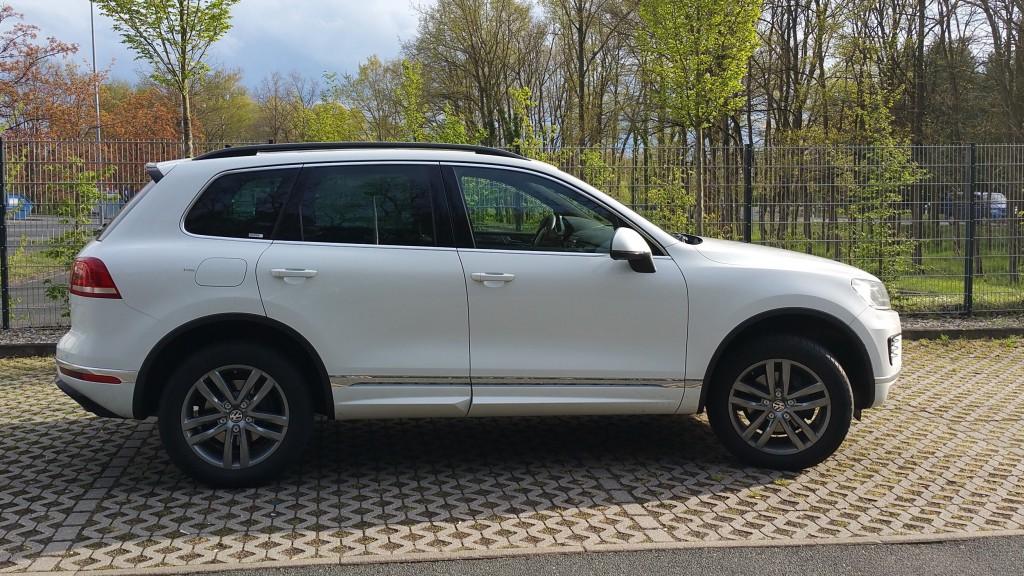 VW Touareg TDI 3.0 weiß
